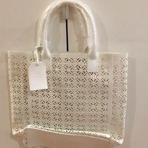Tory Burch Tote Bag White